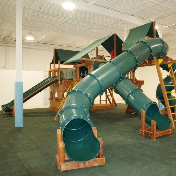 slide and have a blast at our indoor playground the big backyard